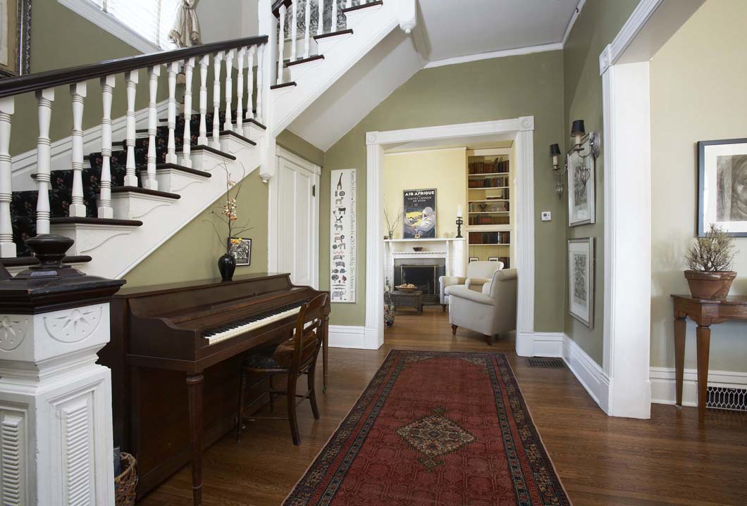 Victorian Homes Foyer : Jay nuhring house styling sophisticated victorian