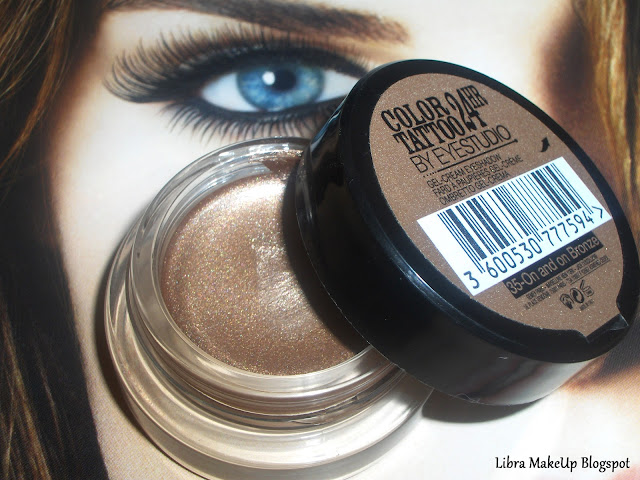 maybelline bronze eyeshadow göz farı
