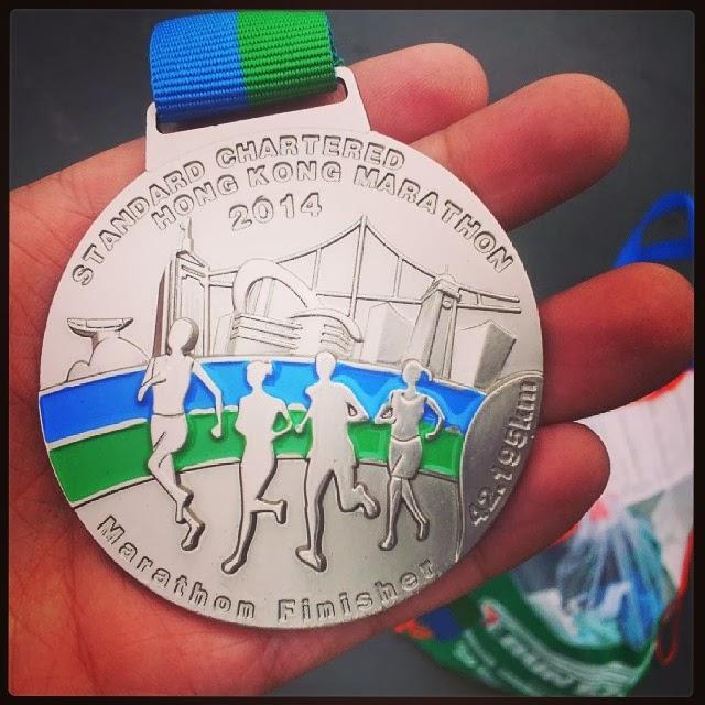 Medalla Finisher Hong Kong Marathon