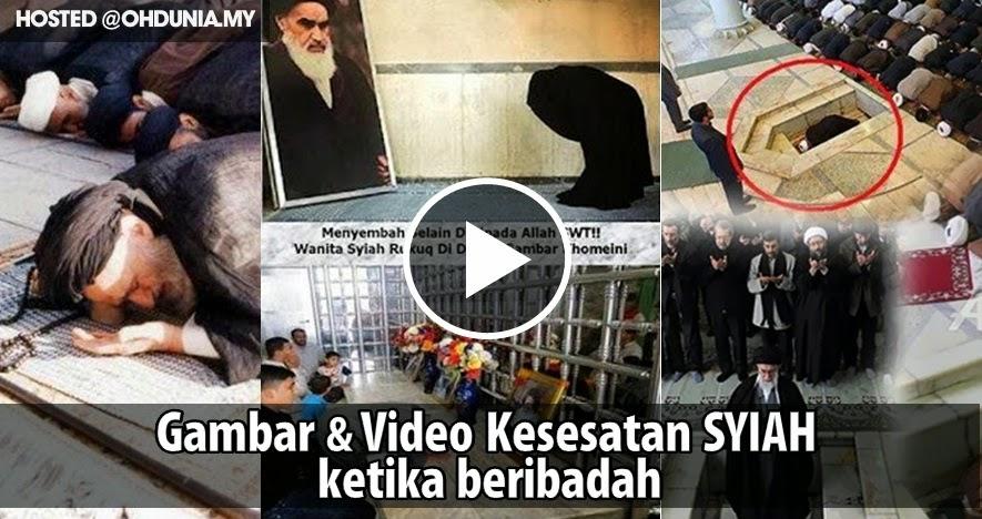 Gambar-Gambar dan Video Kesesatan Penganut Syiah Ketika Beribadah