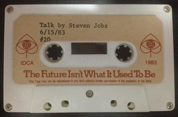 Стив Джобс 1983, редкая запись речи