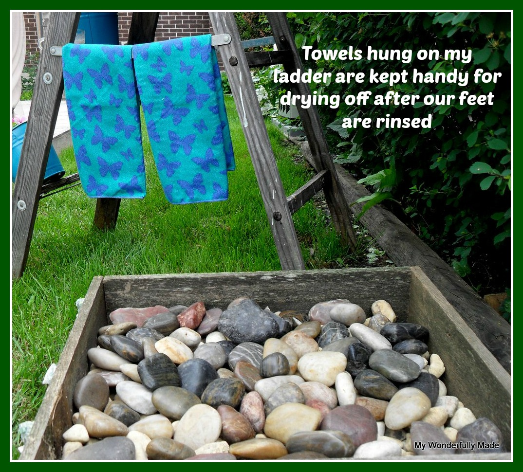 Quot Wonderfully Made Quot Outdoor Foot Wash