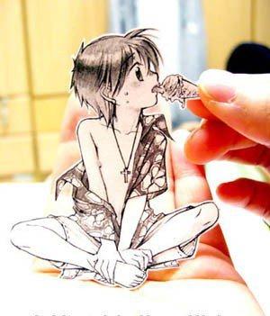 Figuras Anime en papel. 285051_10150263581199819_213182229818_7284190_1586172_n