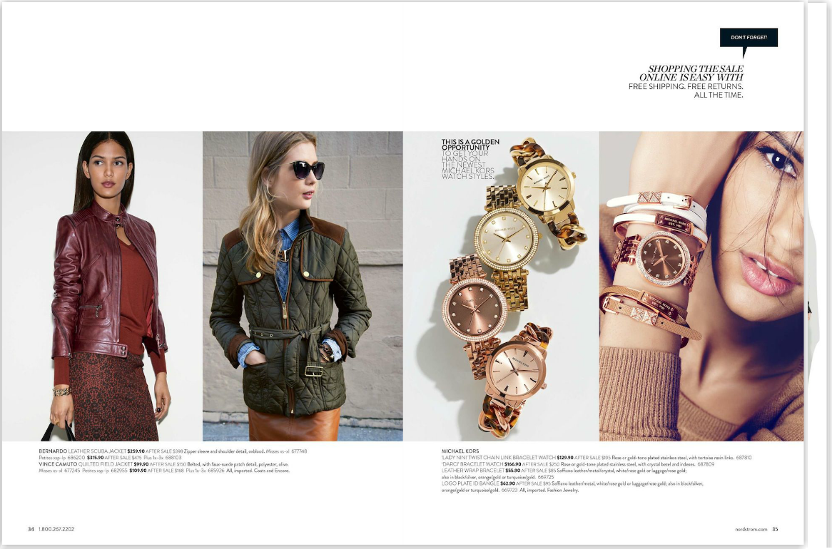 ... 92 page Nordstrom Anniversary Sale catalog! Woohoo! Happy shopping