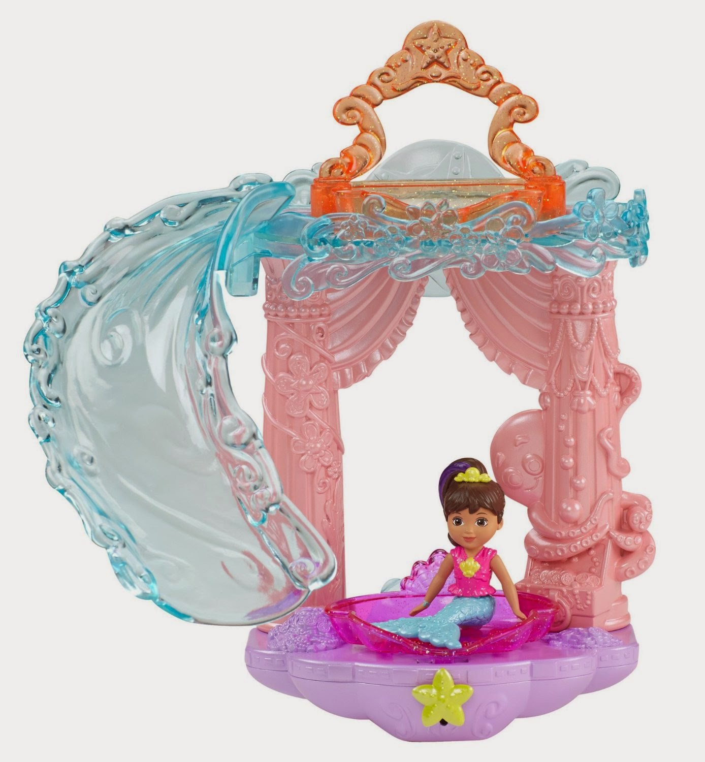 Fisher Price Dora and Friends Slide and Splash Mermaid Adventure Bath Set. Mermaids In The Media  A Blog On Mermaids In Movies  Music Videos