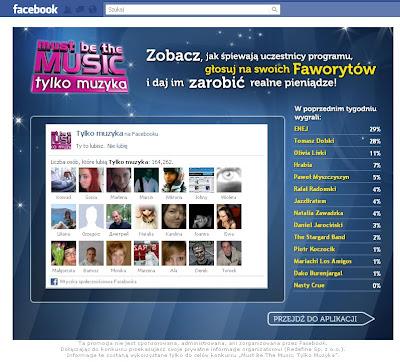 facebook tylko muzyka 2011