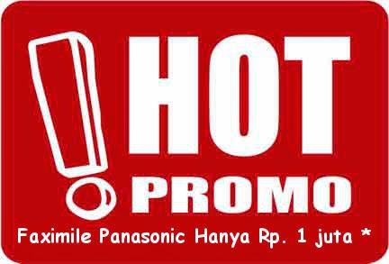 Jual Fax Panasonic murah di Denpasar Bali
