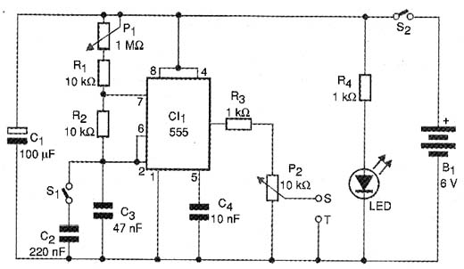 circuito oscilador de onda senoidal  simple and powerfull
