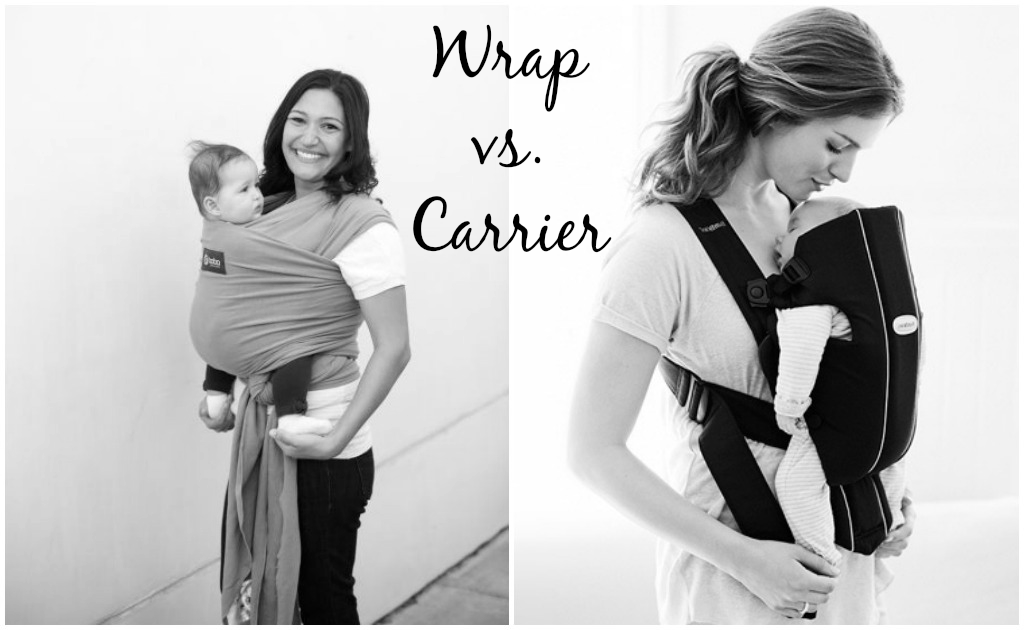 Wrap vs. Carrier — One Mother's Thoughts #Babywearing