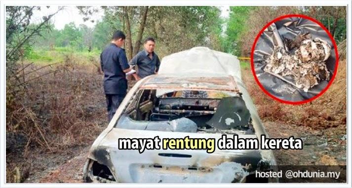 Mayat Ditemui Rentung Dalam But Kereta Di Kebun Kelapa Sawit