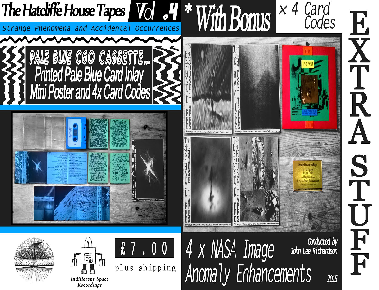 Volume 4 (C60 Pale Blue Cassette + Extra Stuff!)