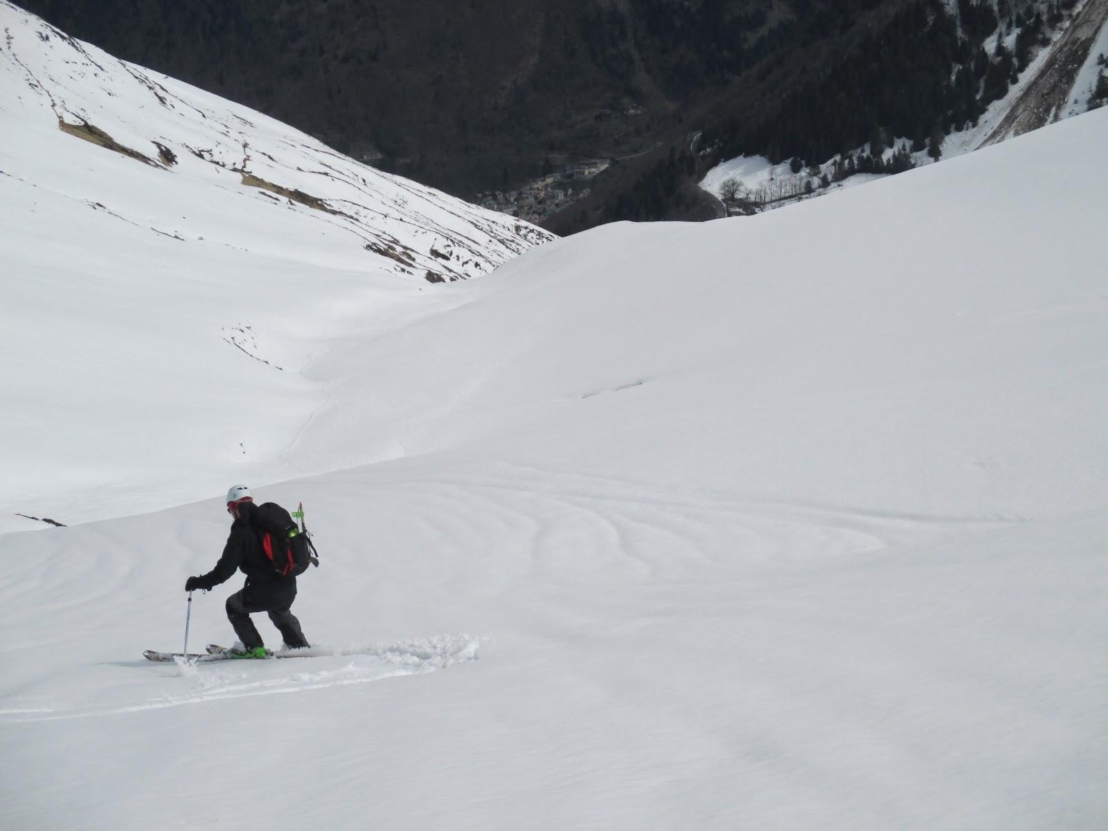 Esqui de montaña:Cauterets,Moun Ne (2724m)