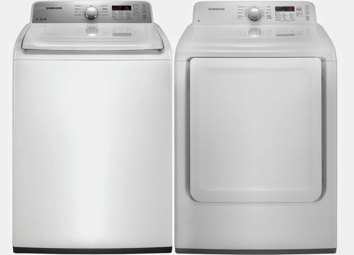 The best top load washer on the market - Samsung White Top Load Electric Laundry Sets
