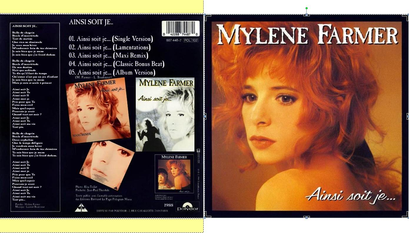 mylene farmer ainsi soit je... album download