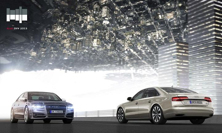 Audi A8 at Frankfurt Motor Show 2013