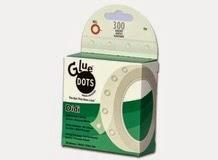 Клеевые точки постоянной приклейки DIDI, Glue Dots, арт.RTDEDIDI300 (001979)