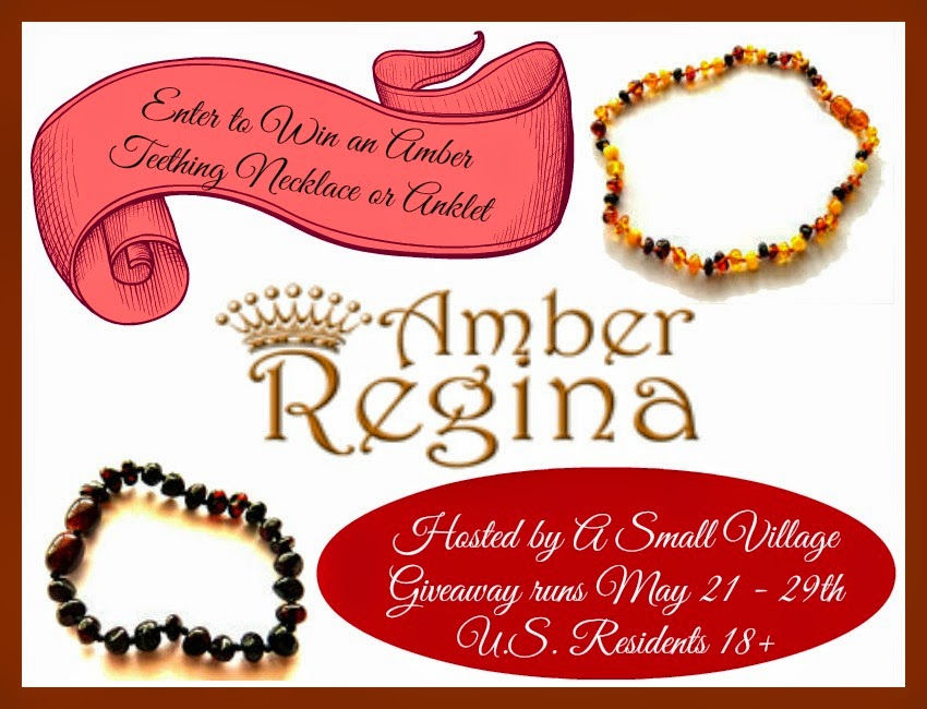 Amber Regina - Baltic Amber Teething Jewelry Giveaway