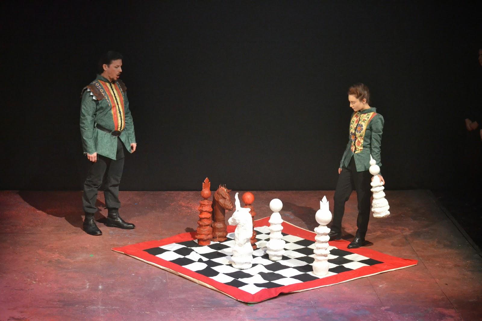 Simon Wilding and Tatiana Delaunay - Macbeth - English Pocket Opera Company - Photo Joshua Hayes