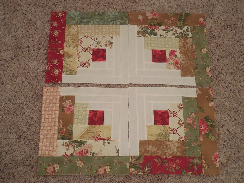 Whisper of Rose Quilts: CURVED LOG CABIN : curved log cabin quilt block - Adamdwight.com