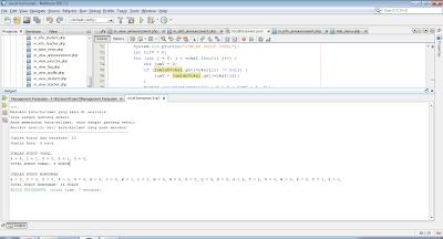 Kode Java Untuk Menghitung Jumlah Kata, Vokal Dan Konsonan Dalam Kalimat
