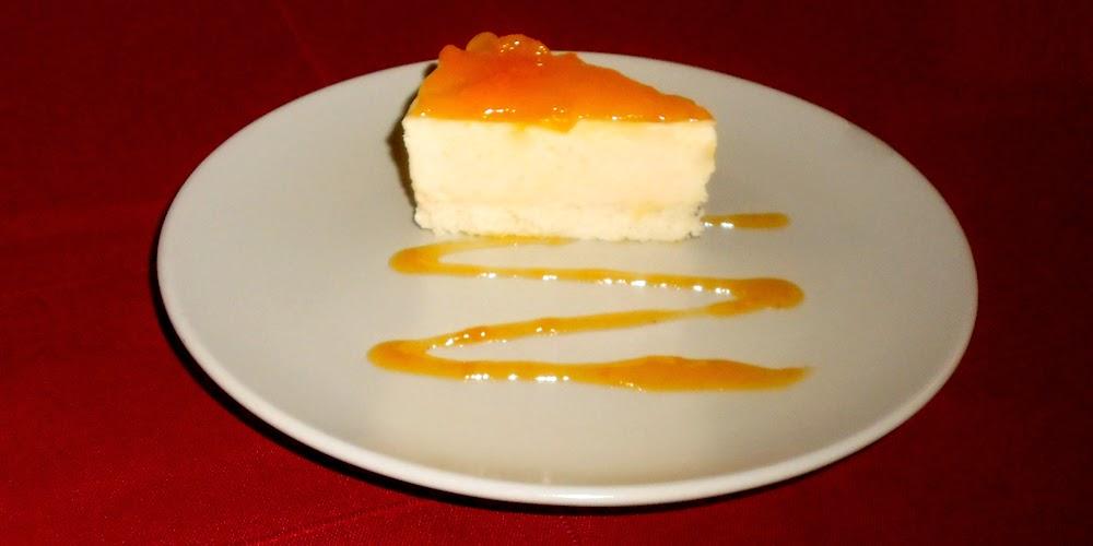 Torta de Yogur con Melocotones
