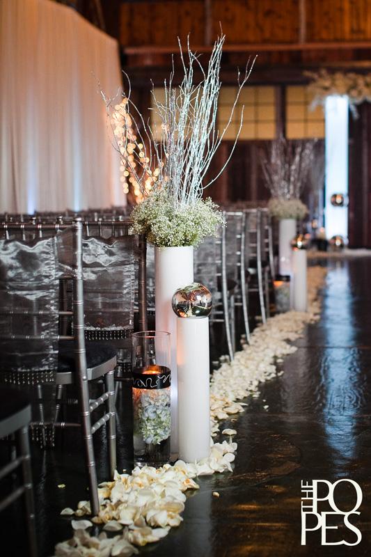 flora nova design the blog gorgeous winter wedding at sodo park. Black Bedroom Furniture Sets. Home Design Ideas