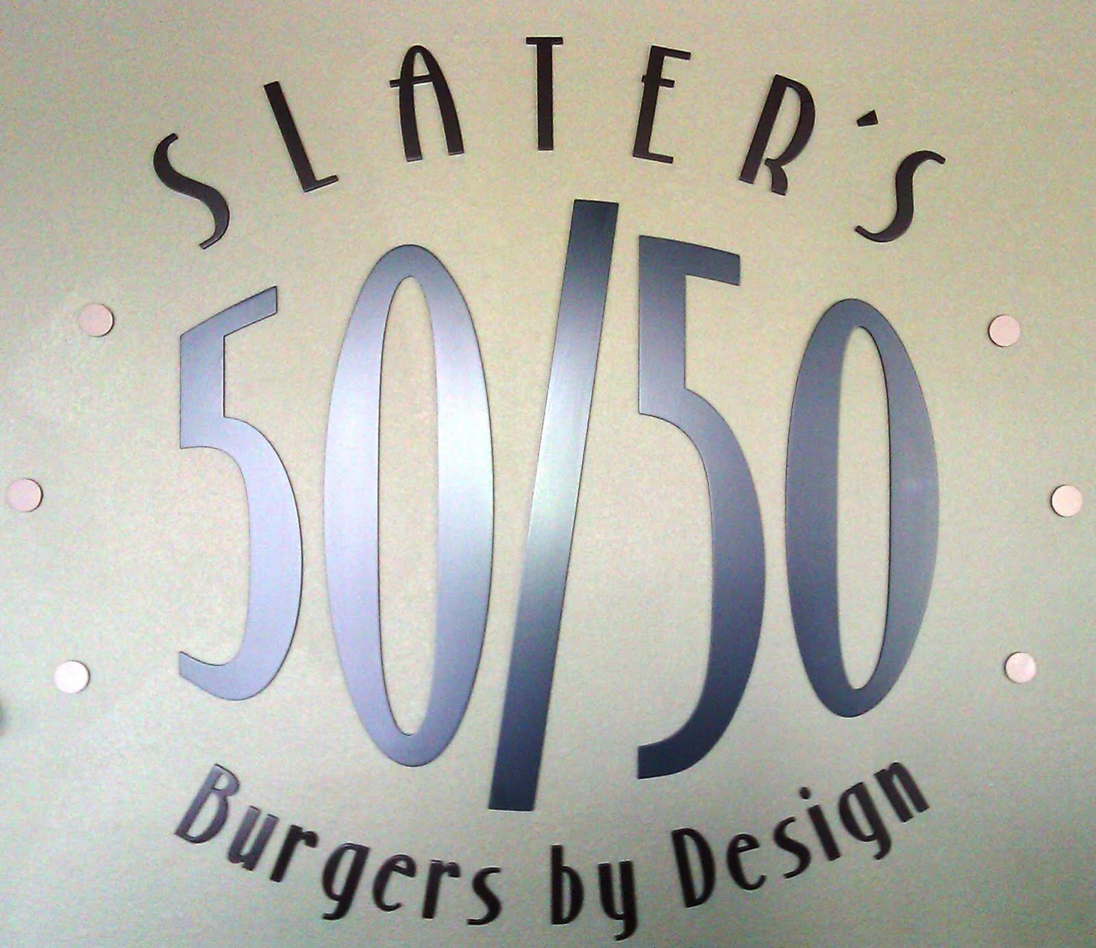 Honest and Accurate Burger Reviews by TheBurgerBusters: Slater\'s 50 ...