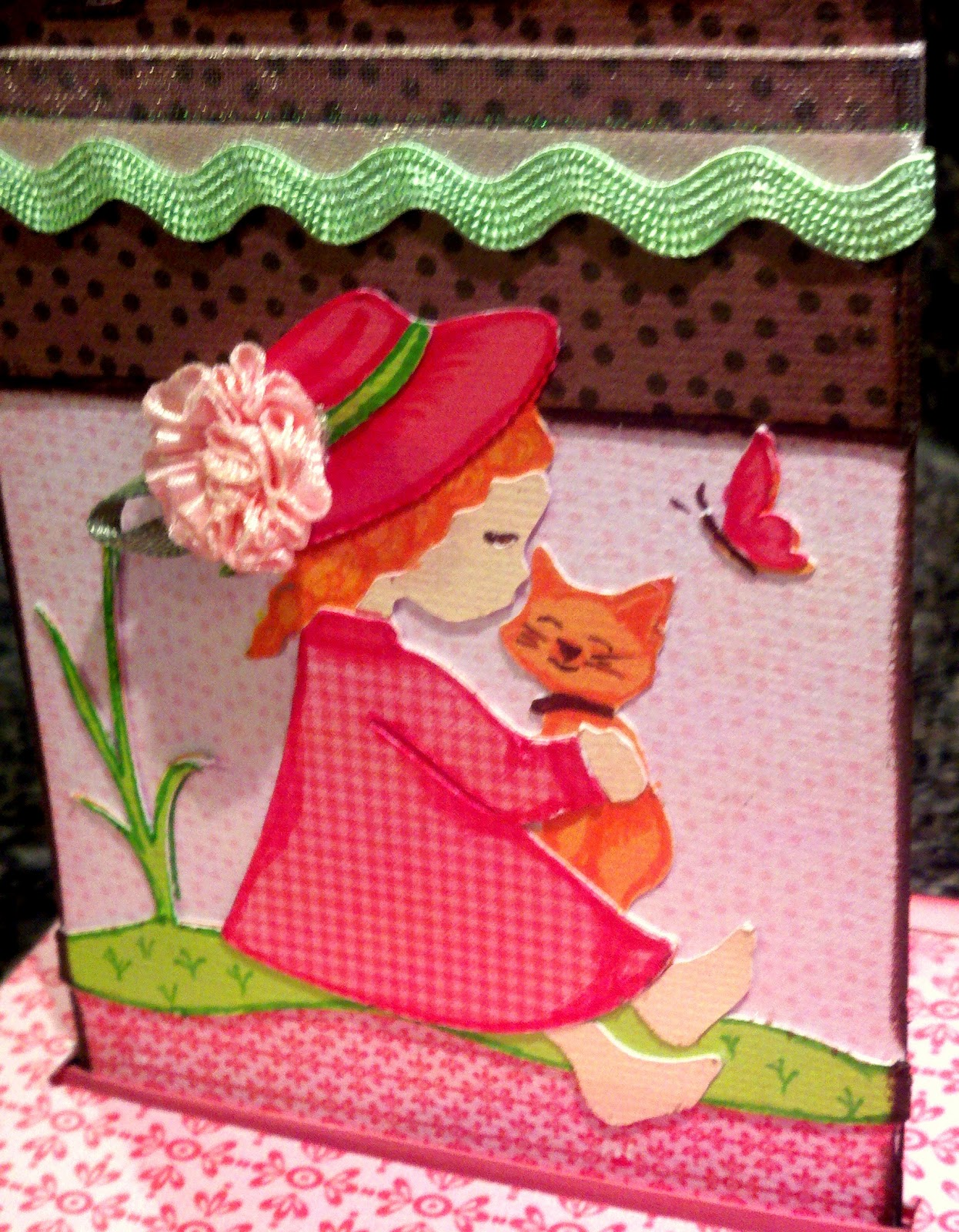 Merilee Lane Where Life is but a Dream Free Standing Pop Up Card