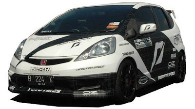 all new honda jazz modification