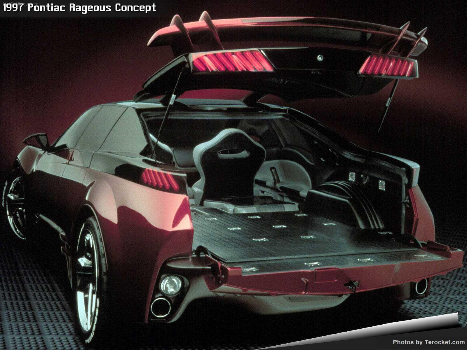 Hình ảnh xe ô tô Pontiac Rageous Concept 1997 & nội ngoại thất