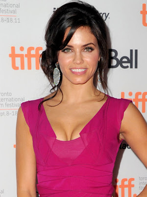 Jenna Dewan Tatum Dangling Diamond Earrings