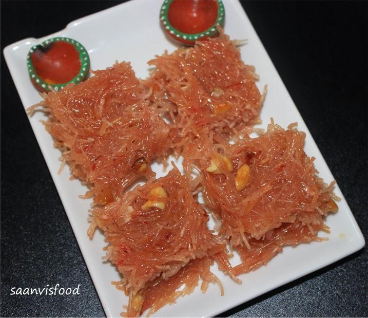 Semiya Coconut Halwa
