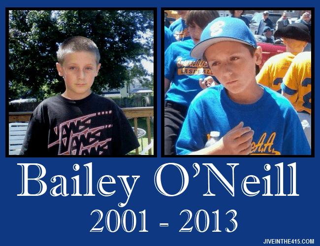 Bailey O'Neill 2001 - 2013