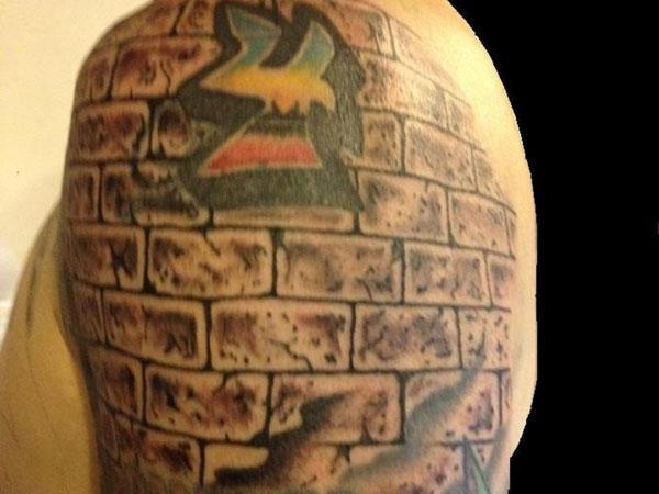 Brick Wall Tattoo Designs6