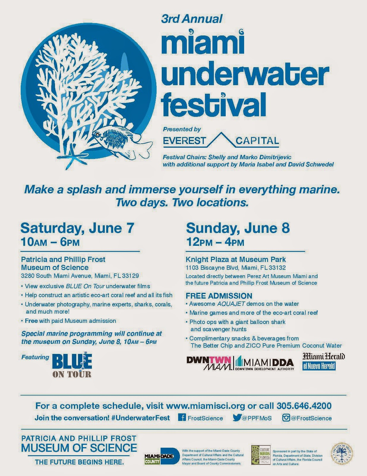 Underwater Restaurant Miami 3rd Annual Miami Underwater