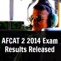 AFCAT 2 2014 Exam Results Released