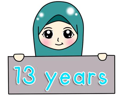 13 Tahun