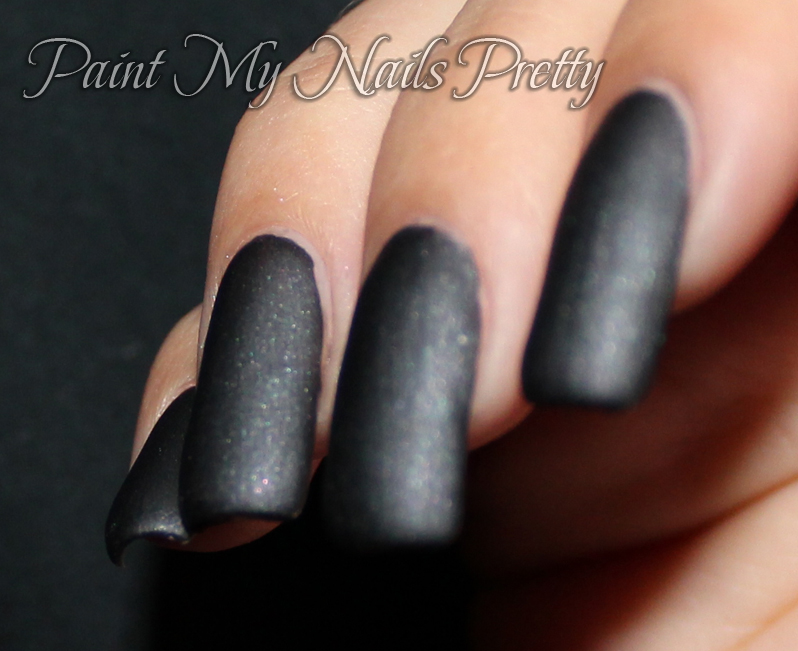 Paint My Nails Pretty: Matte is Murder by ManGlaze