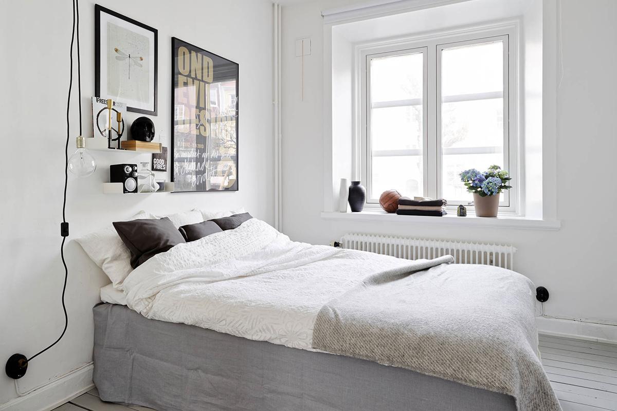 Slaapkamer Ideeen Scandinavisch : WNĘTRZA; SKANDYNAWSKIE MIESZKANIE ...