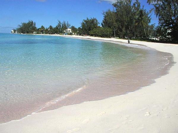 Weisser Traumstrand auf Barbados