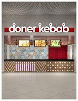 дизайн фаст фуда,дизайн проект фудкорта, Doner kebab Парк Хаус,Донер Кебаб,интерьер