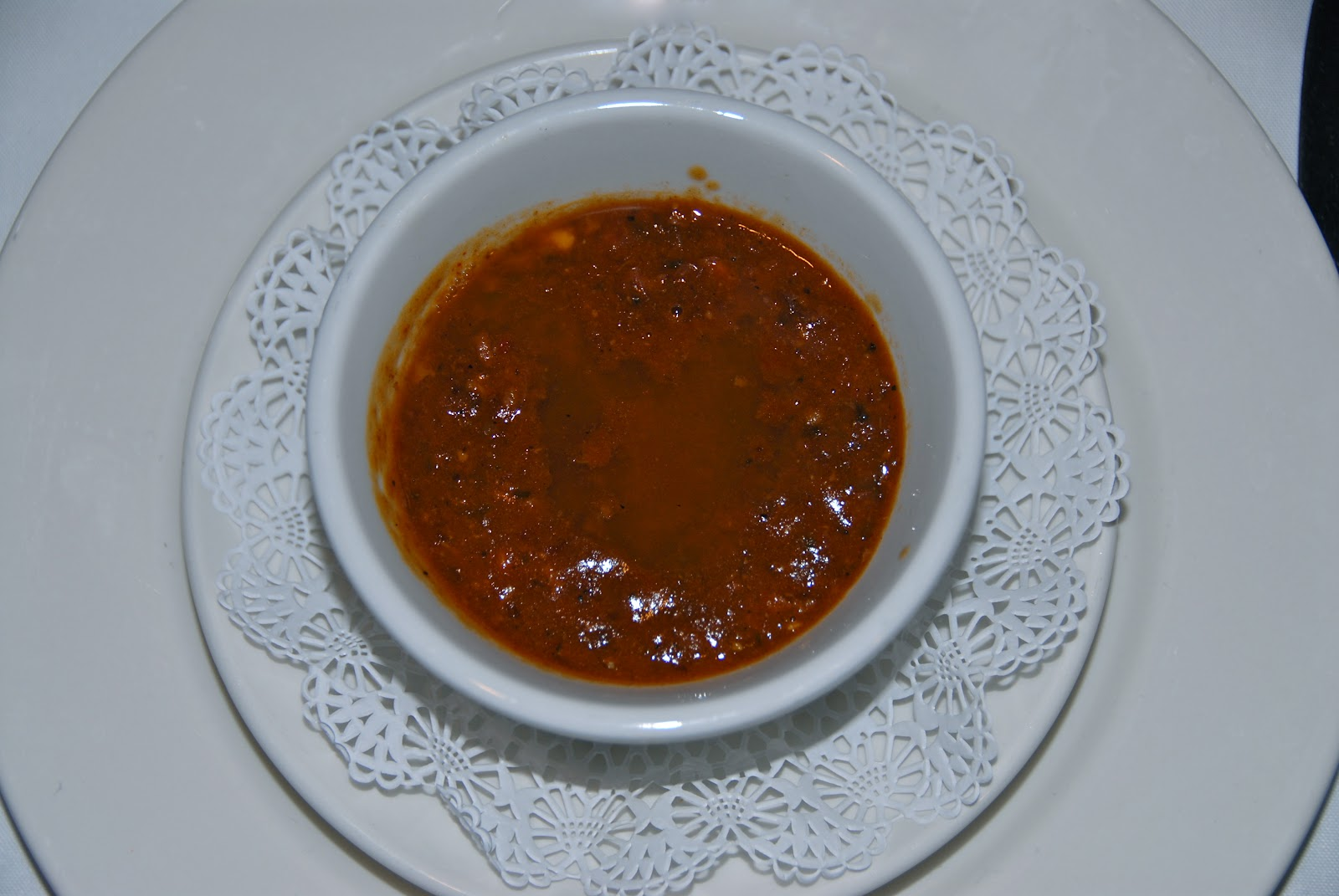 New Orleans classic: turtle soup. It was rich
