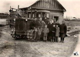 Гусеничный трактор ХТЗ ДТ-54