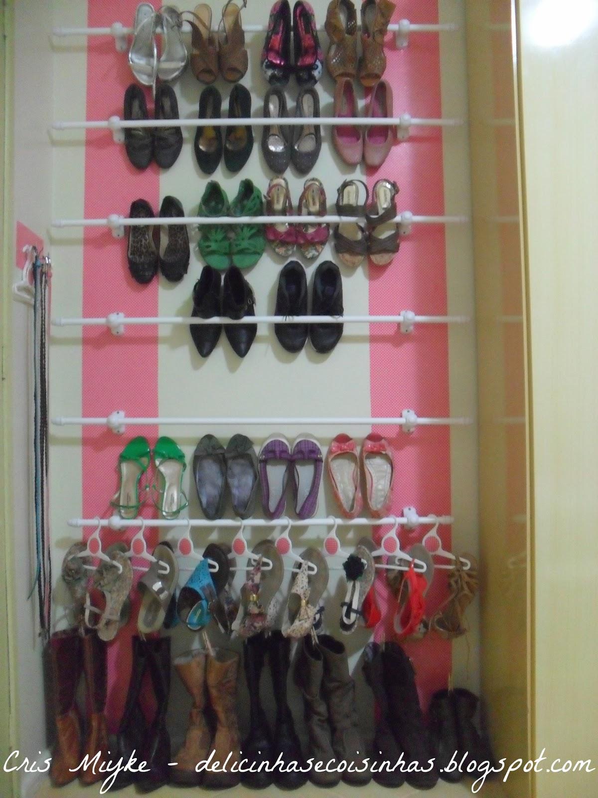 sapateira de parede projeto sapatos organizados sapateira de parede  #8A4150 1200x1600