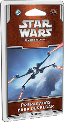 Expansión Star Wars LCG: Ciclo Escuadrón Pícaro - Preparados para despegar