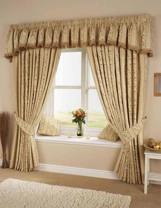 Different kinds of curtains for different kinds of windows for Different window designs