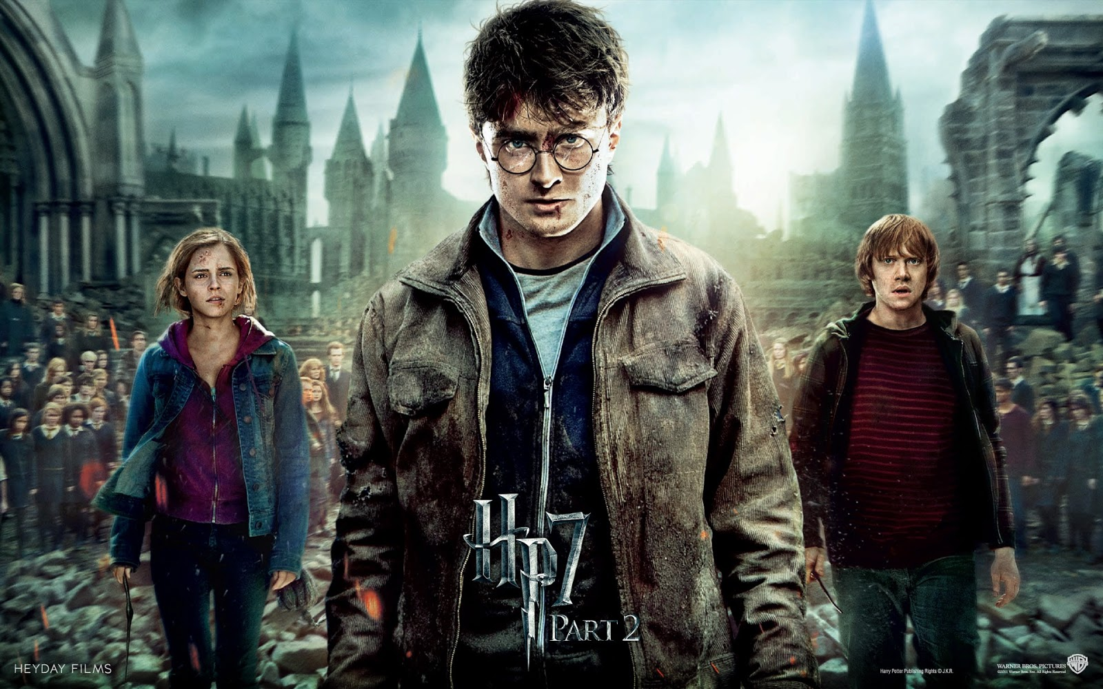 Harry Potter and the Deathly Hallows Movie Star Cast