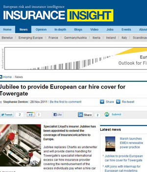 Excess Insurance Car Hire Europe