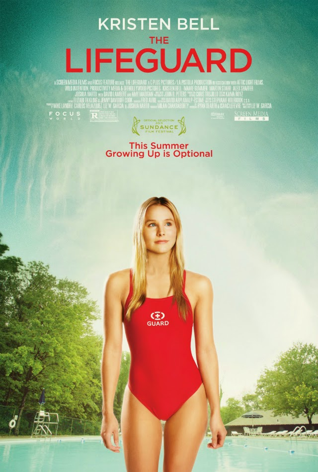 La película The Lifeguard ( La salvavidas )