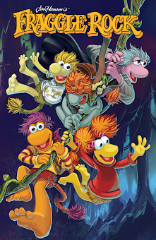 "4 Part Comic Book Mini-Series ""Fraggle Rock: Journey to the Everspring"" available October 8th !"